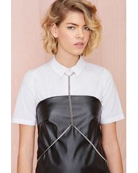 Nasty Gal Carissa Body Chain - Lyst