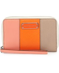 Marc By Marc Jacobs Too Hot To Handle Wingman Tech Wallet - Lyst
