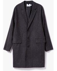 Topman   Pinstripe Wool Duster   Lyst