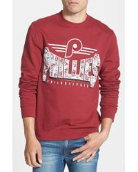 Mitchell & Ness 'Philadelphia Phillies' Crewneck Sweatshirt - Lyst