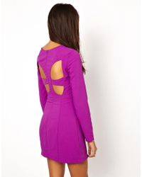 Finders Keepers Burning Ground Long Sleeve Dress - Lyst