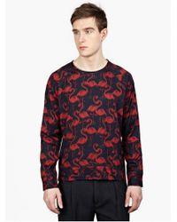 Marc Jacobs Men'S Flamingo Printed Sweatshirt blue - Lyst