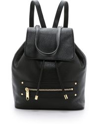 MILLY - Astor Backpack - Black - Lyst