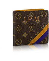 Louis Vuitton Marco Wallet Mon Monogram - Lyst
