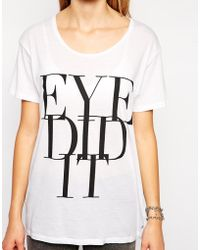 Cheap Monday Eye Did It Easy Tshirt - Lyst