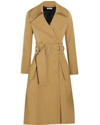 Bouchra Jarrar | Wool-Blend Gabardine Trench Coat | Lyst