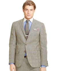 Ralph Lauren Polo Ii Glen Plaid Suit - Lyst