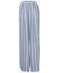Exclusive For Intermix - Striped Wide-leg Pant - Lyst