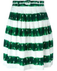 Samantha Sung - Stripe 'claire' Skirt - Lyst