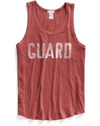 Todd Snyder X Champion Lifeguard Tank Top - Lyst