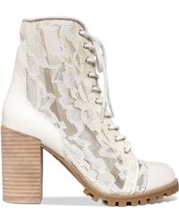 Report Signature Allon Booties - Lyst