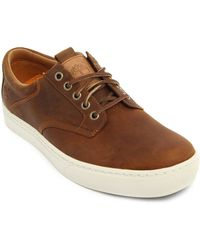 Timberland Earthkeepers Leather Tobacco Sneakers - Lyst