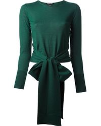 Tom Ford Bow Sweater - Lyst