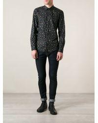 Diesel Floral Print Shirt - Lyst
