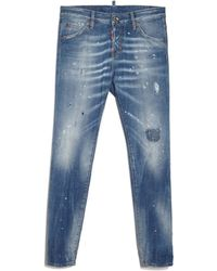 DSquared² | Cool Girl Distressed Jean | Lyst