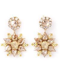 Versace Blooming Medusa Earrings - Lyst