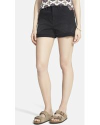 Madewell High Rise Denim Shorts - Lyst