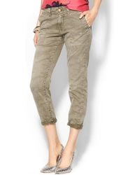 Current/Elliott Army Buddy Trouser - Lyst
