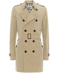 Burberry Brit Britton Double-breasted Trench Coat - Lyst