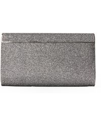Jimmy Choo Anthracite Cayla Clutch - Lyst