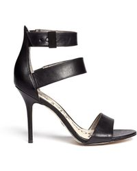 Sam Edelman Addie Leather Strappy Sandals - Lyst