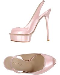 Le Silla Sandals - Lyst