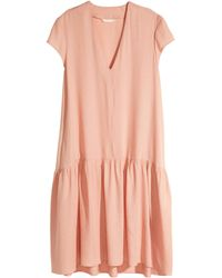 H&M Wide Dress - Lyst