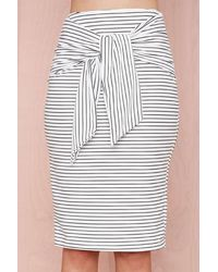 Nasty Gal Get Waisted Skirt - Lyst