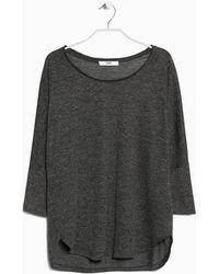Mango Dolman Sleeve T-Shirt - Lyst