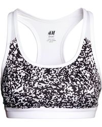 H&M Sports Bra Medium Support - Lyst