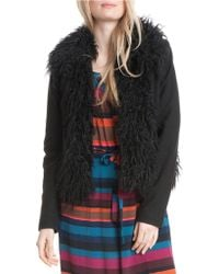 Plenty by Tracy Reese - Faux Fur Jacket - Lyst