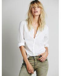 CP Shades Cotton Boyfriend Shirt - Lyst