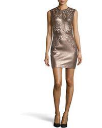 Catherine Deane Nadia Cutout Leather Dress - Lyst