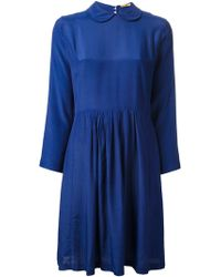 Peter Jensen Peter Pan Collar Dress - Lyst