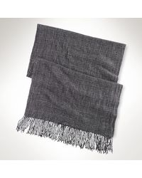 Polo Ralph Lauren Rib-knit Cashmere Scarf - Lyst