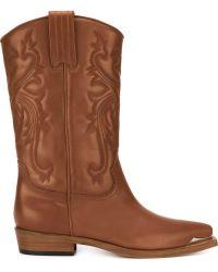 Philippe Model - 'arizona' Cowboy Boots - Lyst