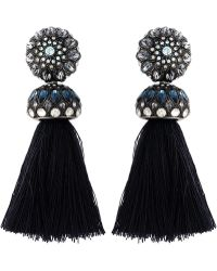 Lanvin - Tassel Clip-on Earrings - Lyst
