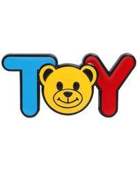 Moschino - Toy Teddy Bear Pin - Lyst