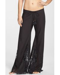 Pilyq 'Piper' Lace Lounge Pants - Lyst