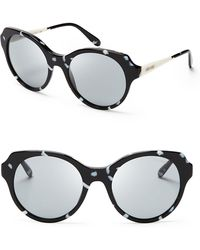 Miu Miu Curvy Oversized Sunglasses - Lyst