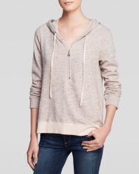 Splendid Sweatshirt  Half Zip - Lyst