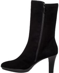 Aquatalia by Marvin K Raia Black Suede Weatherproof Boot black - Lyst