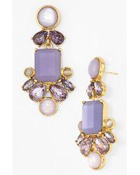 Kate Spade 'Glitzy Spritz' Statement Earrings - Lyst