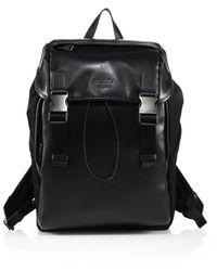 Prada Soft Calf & Nylon Backpack - Lyst