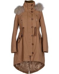 Patrizia Pepe Jacket brown - Lyst