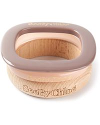 See By Chloé - Mixed Bangles - Lyst