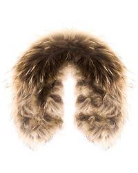 Cynthia Rowley - Fur Earmuffs - Lyst