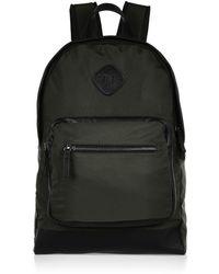 River Island Green Khaki Backpack - Lyst