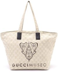 Gucci Museo Tote - Lyst