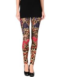 Just Cavalli Leggings - Lyst